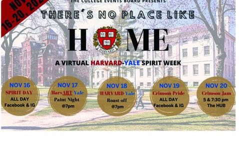 Harvard Yale Spirit Week Poster