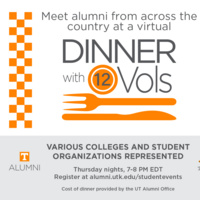 Virtual Dinner with 12 Vol- Grant and Julia Rigney