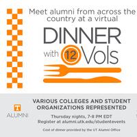Virtual Dinner with 12 Vol- Brad and Melanie Goan