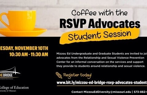 Coffee with the RSVP Advocates: Student Session