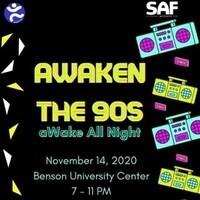 Awaken the 90s: aWake all night Stuff-a-Bear