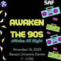 aWaken the 90: aWake All Night Virtual Flashback Bingo