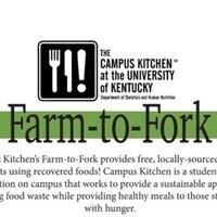 Farm-to-Fork (Dinner)
