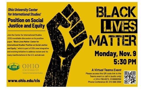 Black Lives Matter: Center for International Studies' Position on Social Justice and Equity