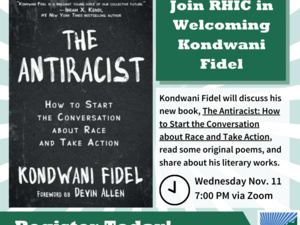 "Hear from Kondwani Fidel, Author of ""The Antiracist"""