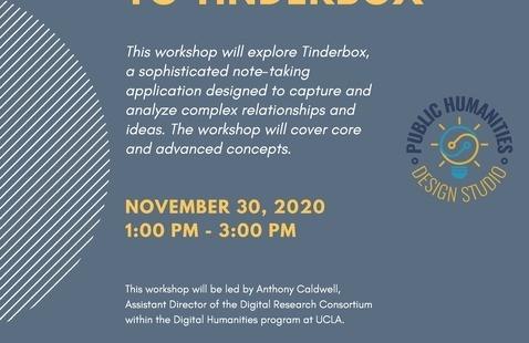 Digital Humanities Tools Series -  Introduction to Tinderbox