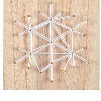 Make & Take: Snowflake String Art Craft Kit