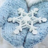 Tweens Upscale Sweaters:  Turning an old sweater into mittens