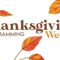Student events | Thanksgiving week