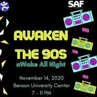 aWaken the 90s: aWake All Night- LED Lava Experiment