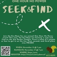 1 Hour No Power Seek-and-Find | Sustainability