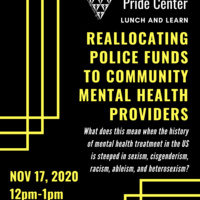 Lunch & Learn | Pride Center