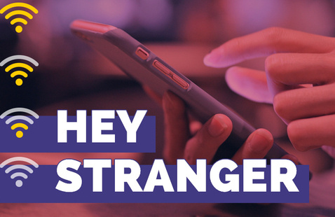 "graphic of ""Hey Stranger"""