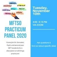 MFTSO LA | Practicum Panel
