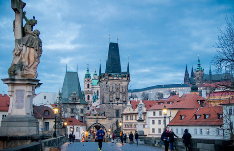 Virtual Global Experience: Prague Peace Trail Walking Tour