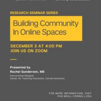 Population Health Sciences Research Seminar