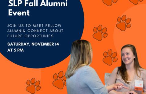 Speech-Language and Pathology Fall Alumni Event