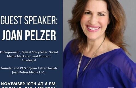AMA Virtual Session with Joan Pelzer '89