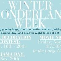 WG3's Winter Wonderland Week - Door Decorating Contest
