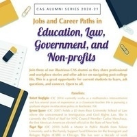 Job and Career Paths in Education, Law, Government and Non-Profits