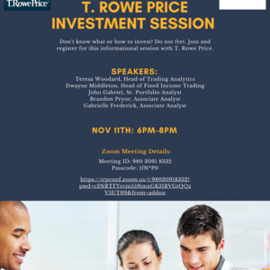 T. ROWE PRICE INVESTMENT SESSION
