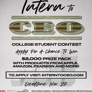 Apply for a Chance to Win $2000 Prize Pack