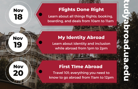Education Abroad: First Time Abroad