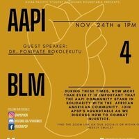 APSP's Roundtable Presents: AAPI 4 BLM