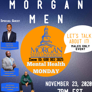 Morgan Men Mental Health Monday
