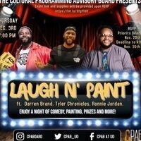 Laugh N' Paint Flyer
