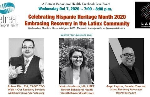 Celebrating Hispanic Heritage Month 2020: Facebook Live Panel Discussion