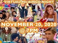 SHSU Young Alumni Virtual 90's Bingo Night