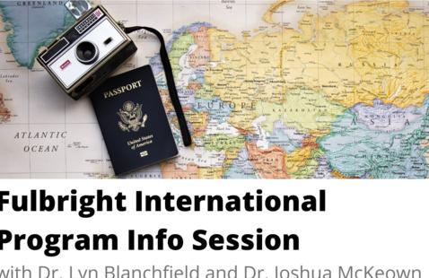Fulbright International Program Info Session