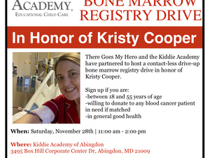 Drive-Up Bone Marrow Registry Drive
