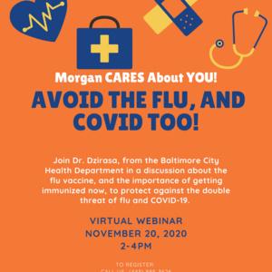 Flu Webinar Flyer