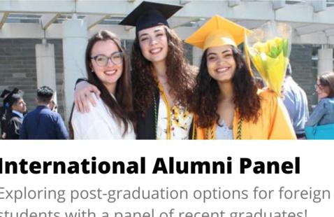 International Alumni Panel: Post-graduation options for foreign students
