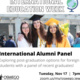 International Alumni Panel: Post-graduation options for foreign students