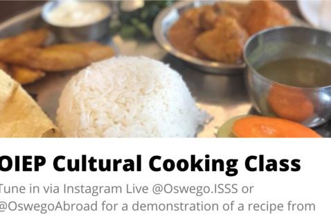 OIEP Cultural Cooking Class