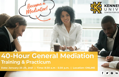 40-Hour General Civil Mediation Training + Practicum