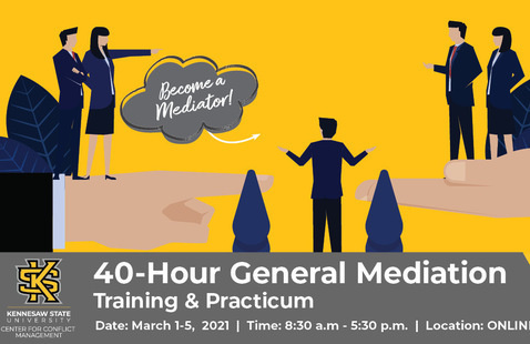 Virtual 40-HR General Mediation Training and Practicum