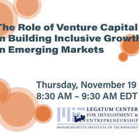 The Role of Venture Capital in Building Inclusive Growth in Emerging Market