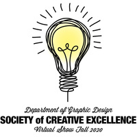 Society of creative excellence show graphic