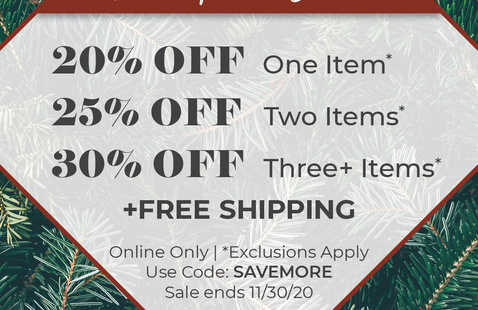 The More The Merrier Sale Online Only