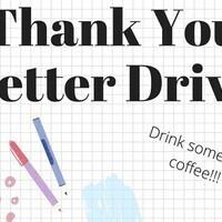 Arts Teacher Appreciation Letter Drive