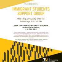 Virtual: Immigrant Students Support