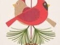 Two holiday birds