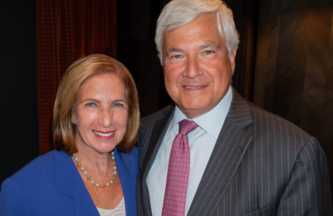 Ilene Gordon and Bram Bluestein featured in the Southern Glazer's Distinguished Leaders Lecture Series