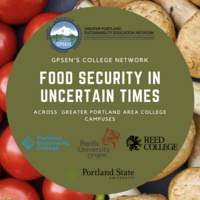 Food Security in Uncertain Times