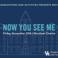 Movies on Main: Now You See Me
