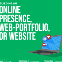 Building an Online Presence and Identity: Portfolio examples, Social media